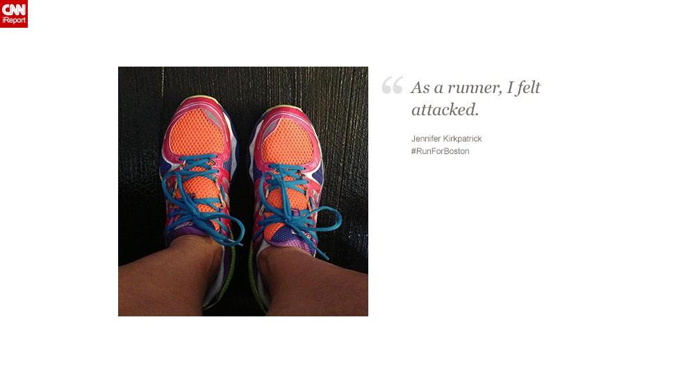 Texan Jennifer Kirkpatrick, 41, plans to run the Dallas Marathon.