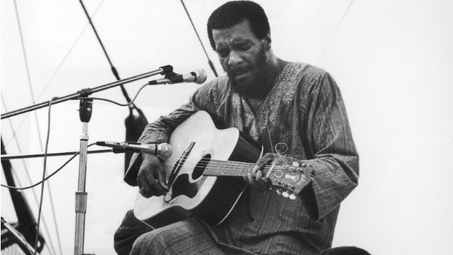 Richie Havens opened the Woodstock festival at Bethel, New York, in 1969. He died of a heart attack Monday.