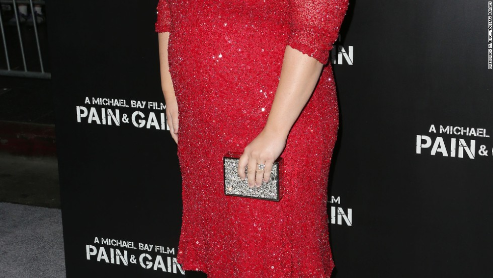 "Rebel Wilson attends the premiere of ""Pain & Gain."""