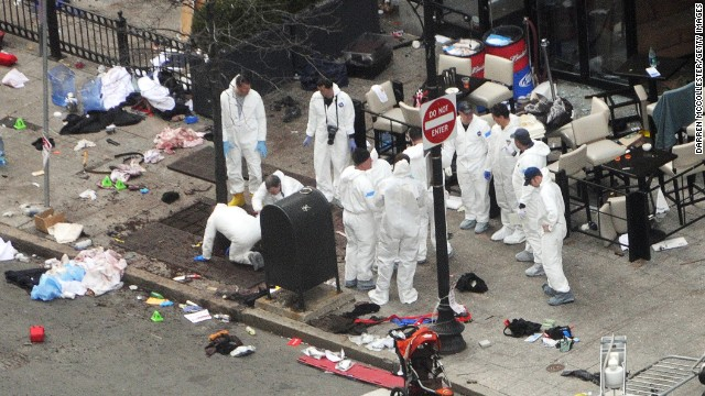 Female DNA found on Boston bomb