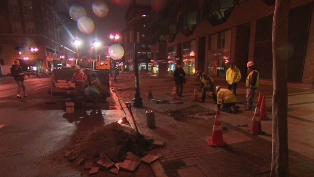 Boylston Street reopens to the public