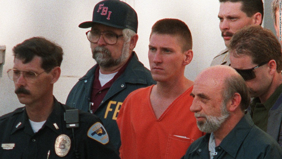 "<a href=""http://edition.cnn.com/2007/US/law/12/17/court.archive.mcveigh/"">Timothy McVeigh</a> originally requested that his ashes be spread at the Oklahoma City bombing memorial, the site that commemorates the 168 people he killed in 1995 with a 7,000-pound truck bomb. But he later wrote that that would be ""too raw, cold."" After his 2001 execution, his ashes were given to his attorney, who spread them at an undisclosed location."