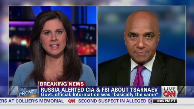 Russia warned U.S. about Tsarnaev