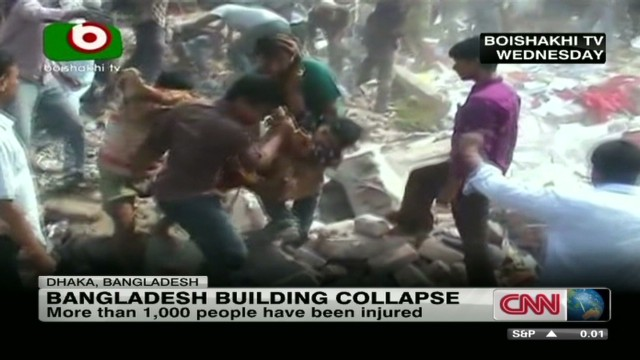 Why did Bangladesh building collapse?