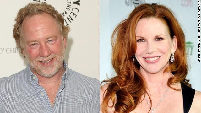 "Actors Timothy Busfield and Melissa Gilbert said ""I do"" on April 24."