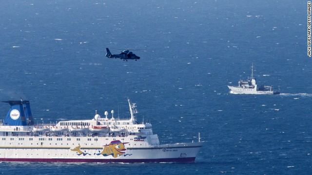 An Israeli navy vessel and helicopter search for the wreckage of a drone that was shot down by the air force on Thursday.
