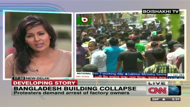 Thousands protest deadly collapse