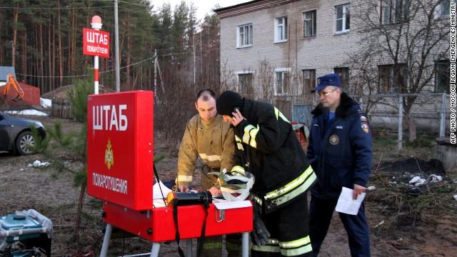 38 killed in Russian hospital fire