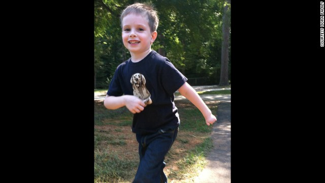 Writer Bridget Mora's 5-year-old son, Holden, is one of an estimated 1-in-88 children in the United States who has autism.