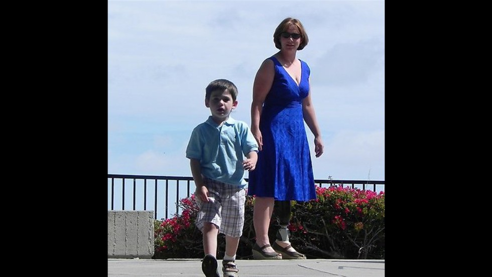 """Peggy Chenoweth lost her leg, but none of her spirit. She organized the first Strut Your Stuff Day on her blog, """"The Tales of an Amputee Mommy,"""" in 2011."""