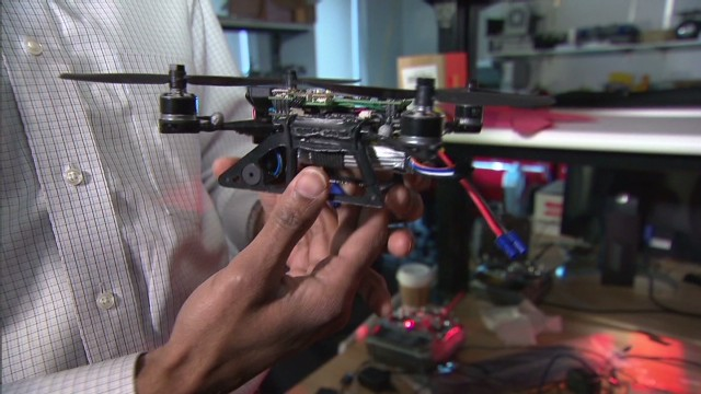 Drones to fly over Boston Marathon?