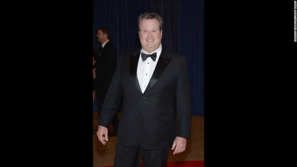 "Eric Stonestreet, from ""Modern Family,"" smiles from the red carpet."