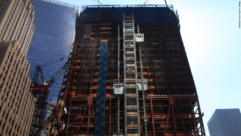 Construction continues on September 8, 2010.