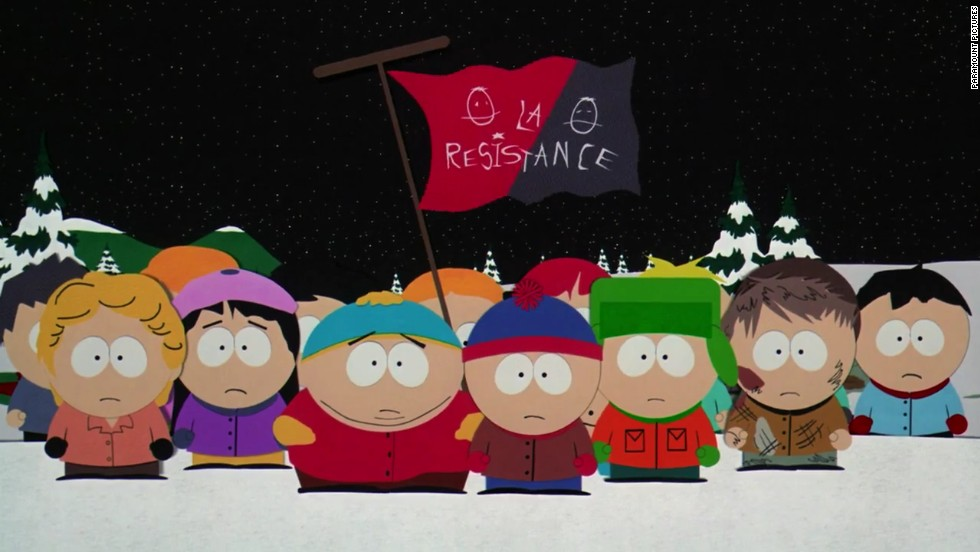 "Trey Parker and Matt Stone's animated sitcom ""South Park"" took a turn on the big screen in the 1999 movie ""South Park: Bigger, Longer & Uncut."""