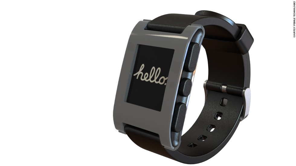 "The <a href=""http://getpebble.com/"" target=""_blank"">Pebble Watch</a>, what many consider the first commercial smartwatch, first gained attention by pulling in more than $10 million on Kickstarter.  Pebble connects to an iPhone or Android phone via Bluetooth and has a growing slate of apps of its own. Lots of other folks are jumping into the smartwatch fray (Apple and Samsung are believed to be on the way) so there are other options, too. <strong>Price: $150 to pre-order (watches shipping this summer)</strong>"