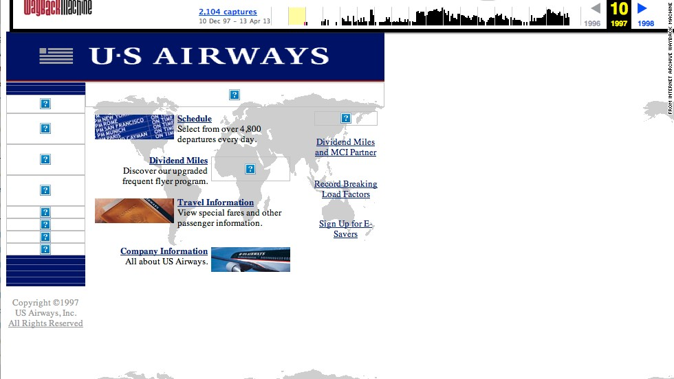 "Ready to jet? Get flight information and more from the <a href=""http://usairways.com"" target=""_blank"">usairways.com</a> website of October 1997."
