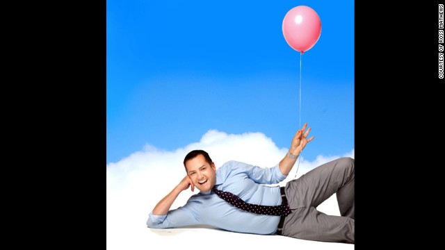 "Comedian Ross Mathews' ""Man Up!"" is due out on May 7."