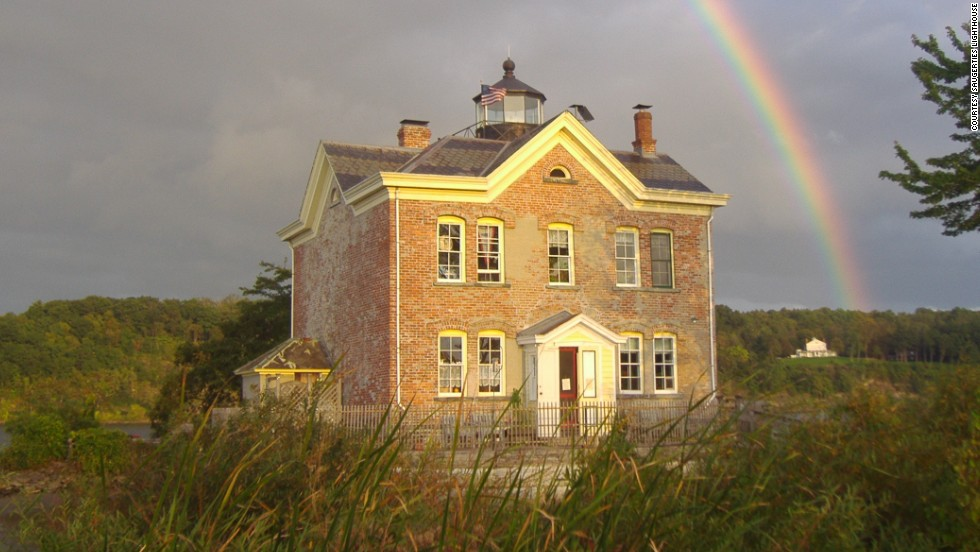 It's hard to believe the secluded 19th-century Saugerties Lighthouse is just a two-hour drive from Manhattan. But stay a night in the converted bed-and-breakfast guesthouse, and you'll soon forget the bustle of the city.