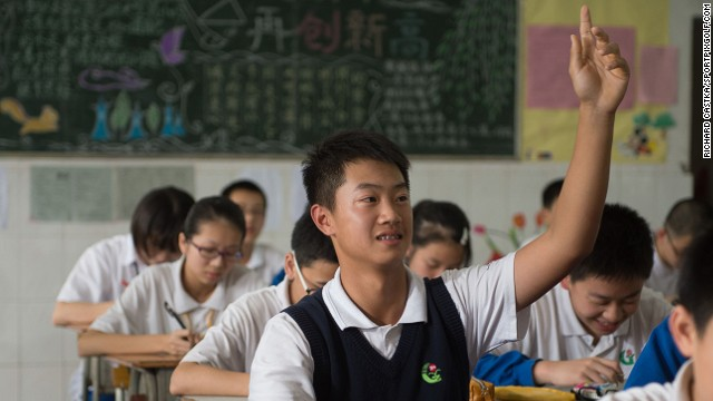 Ye Wocheng is juggling school with his historic golfing career. Photo from Richard Castka/Sportpixgolf.com.