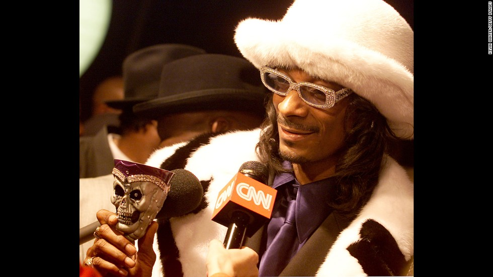 "He may want to be known as ""Snoop Lion"" now, but back in the day, Snoop Dogg played up the gangsta/pimp image."