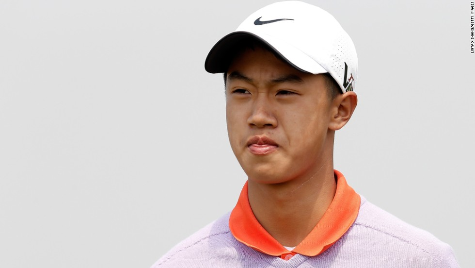 He carded a seven-over-par 79 in the opening round of the China Open at Binhai Lake Golf Course on May 2.