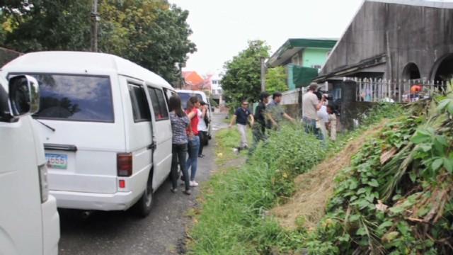 Ride-along on a human trafficking raid