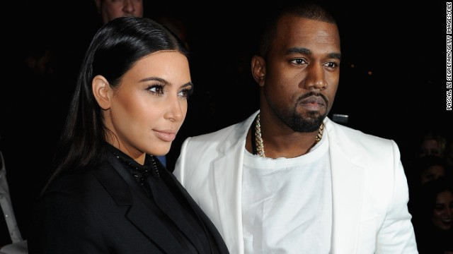 Reality TV superwoman Kim Kardashian and rap star Kayne West are expecting a girl next month.