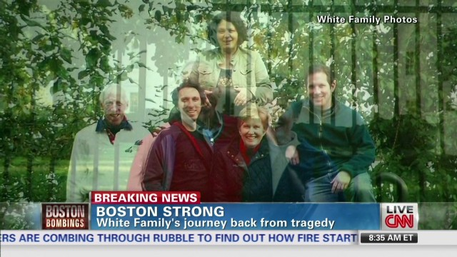 Injured White family is 'Boston Strong'