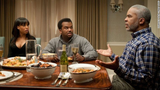 "Kerry Washington, Craig Robinson and David Alan Grier star in ""Peeples."""