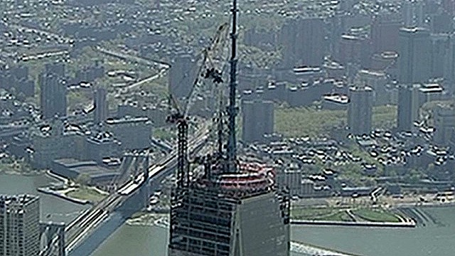 Final parts placed on World Trade Center