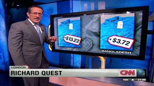 Cheap to make clothes in Bangladesh