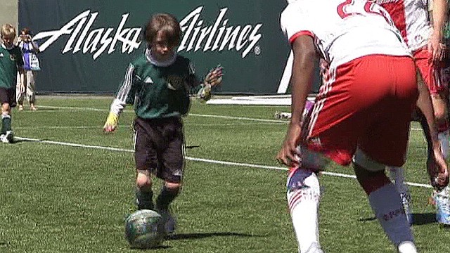 See boy, 8, defeat MLS team