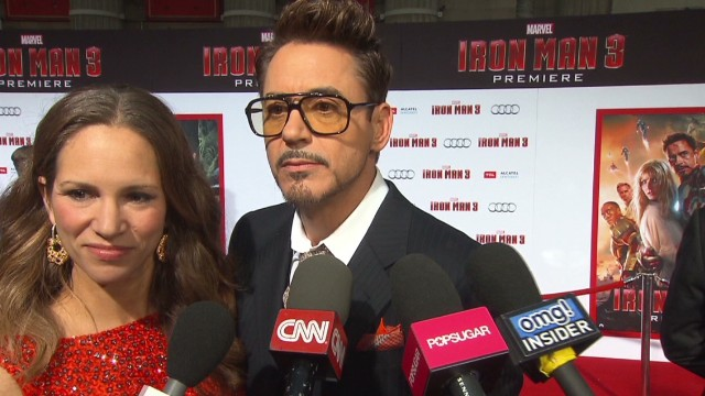 2013: Robert Downey Jr. talks 'Iron Man 3'