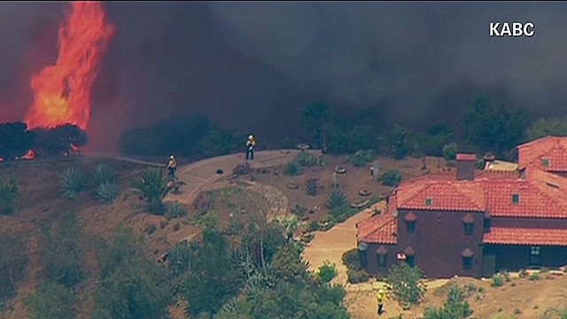 Winds a huge concern in wildfire fight