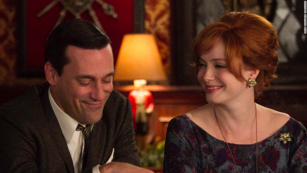 """<strong>""""Mad Men"""" (2007)</strong>: The 1960s, as told from the perspective of a successful New York advertising firm, has had a lot to say about then -- and now."""