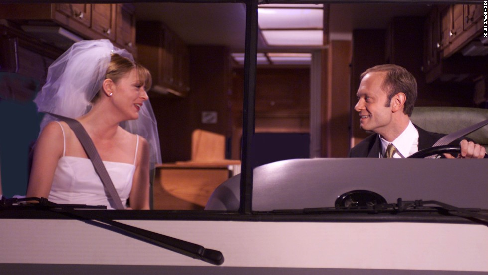 """<strong>""""Frasier"""" (1993)</strong>: If """"dying is easy, comedy is hard,"""" then farce -- with its slamming doors, misunderstandings and razor-sharp timing -- is brutal. But """"Frasier"""" made it look easy."""