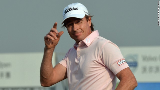 Australia's Brett Rumford was in confident mood as he finished his third round at the China Open.