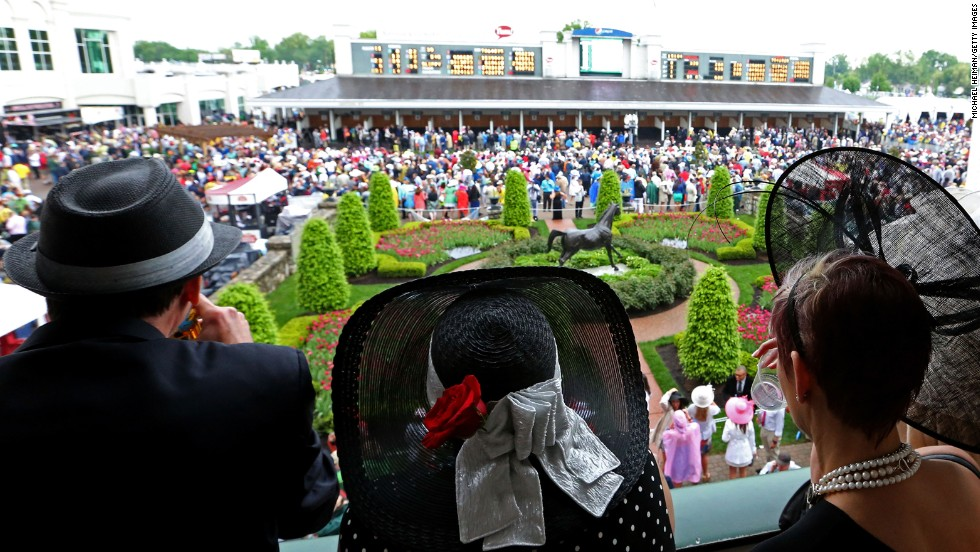 The stands will once again be full to the brim for the key occasion of American thoroughbred racing.