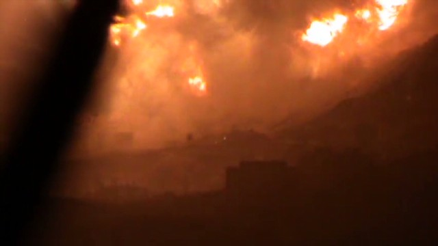 Explosions rock Damascus
