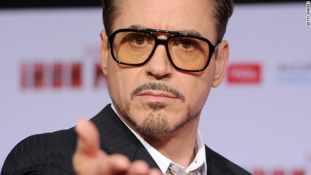 2013: Downey strikes gold for 'Iron Man 3'
