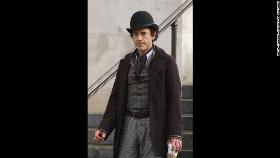 In 2009, Downey took on the role of Sherlock Holmes.