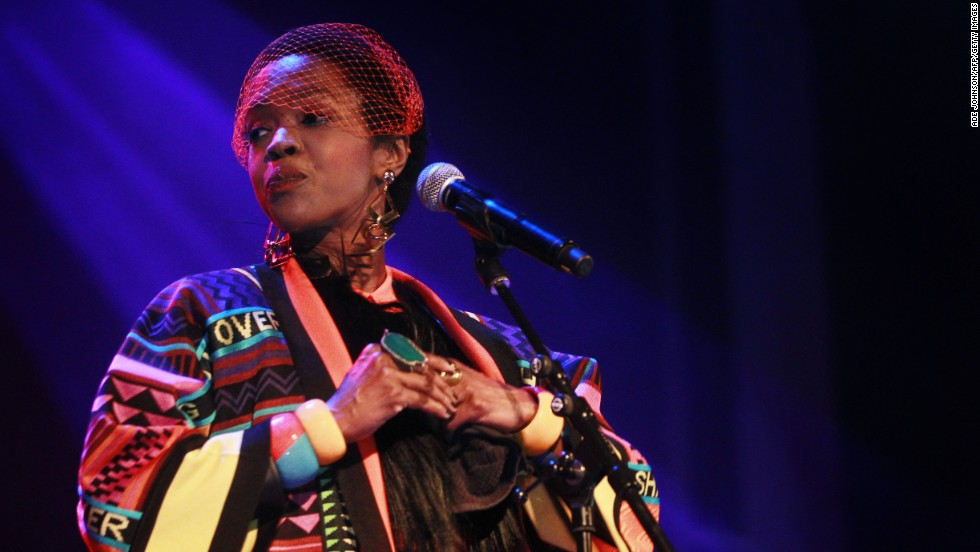 "Singer Lauryn Hill may be strong in some of her opinions (she reportedly prefers to be called ""Ms. Hill"") but there <a href=""http://www.snopes.com/politics/quotes/laurynhill.asp"" target=""_blank"">appears to be no truth</a> to the story that she told MTV she would rather her children starve than have white people buy her music."