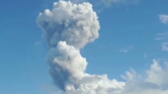 Watch volcano spew deadly ash