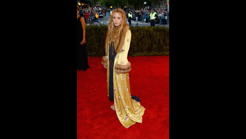 Mary-Kate Olsen attends the gala.