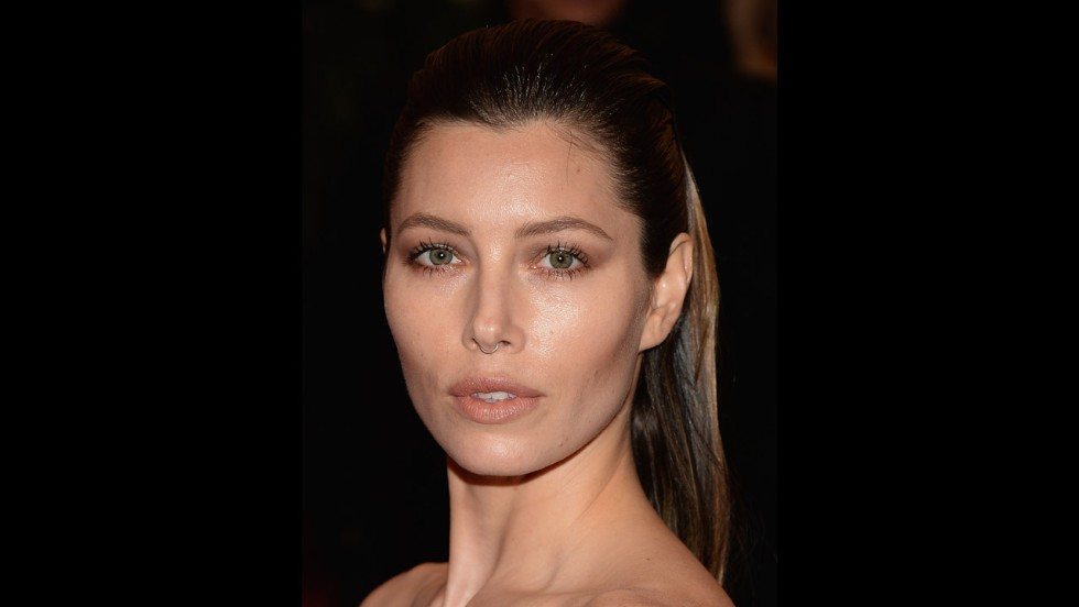 Actress Jessica Biel attends the gala.