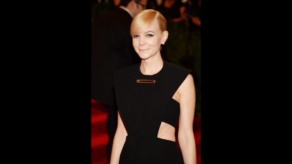 Actress Carey Mulligan attends the gala.