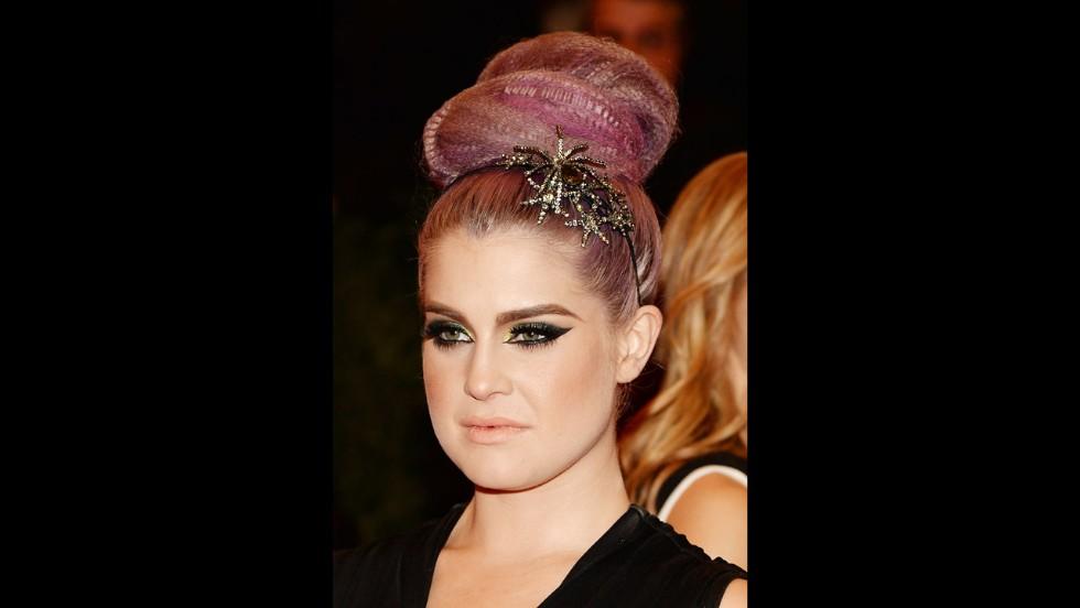 Kelly Osbourne attends the gala.