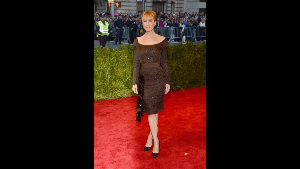 Renee Zellweger attends the gala.