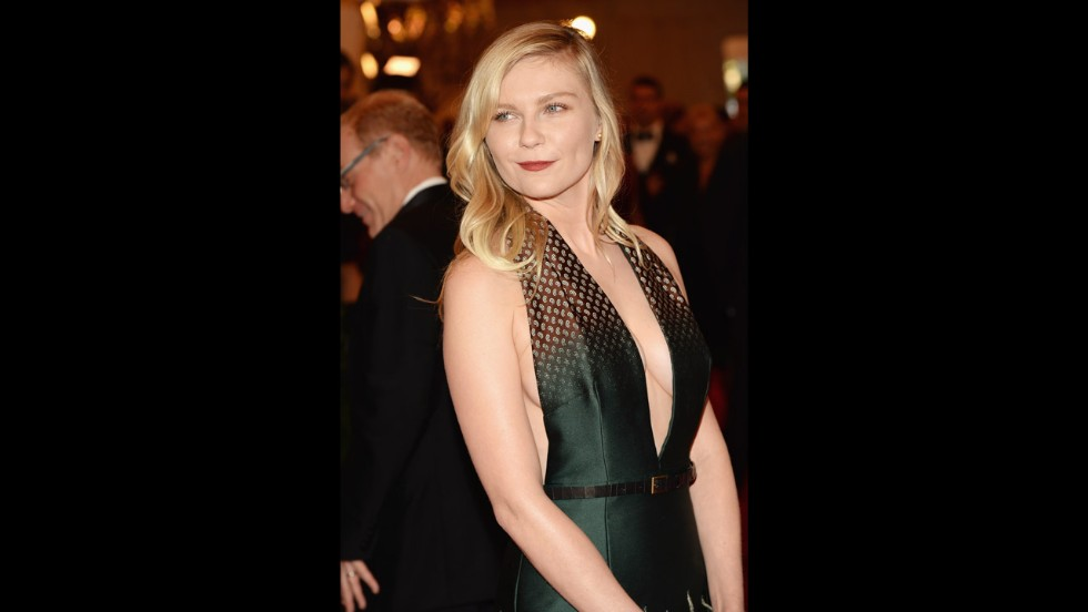 Kirsten Dunst attends the gala.