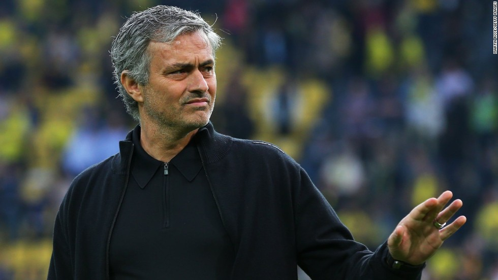 High profile managers like Jose Mourinho (pictured) are adept at managing a complex array of stakeholders and their demands, Carson said, a skill that will be familiar to many CEOs and senior executives.